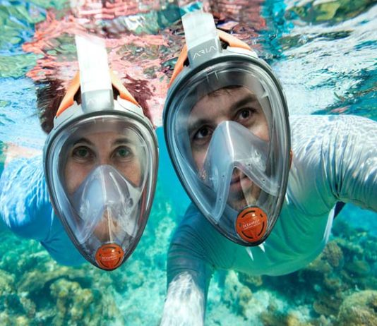 Ocean Reef Aria Full Face Snorkel Mask
