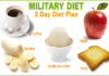 3 Days Military Diet